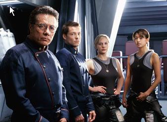 The New Galactica Crew